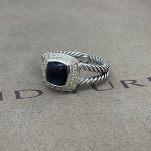 David Yurman Petite Albion Ring Black Orchid